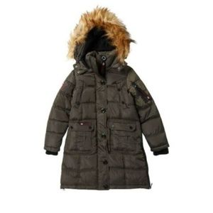 6bca14f8fcd Girls Canada Weather Gear Puffer Parka Jacket Coat